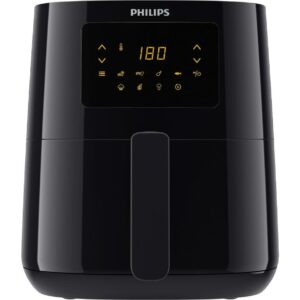 PHILIPS HD9252/91 Air Fryer - Black, Black